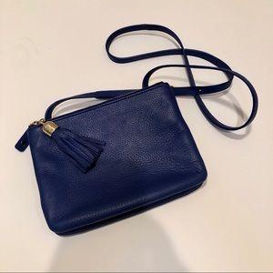 Talbots leather crossbody purse adjustable strap
